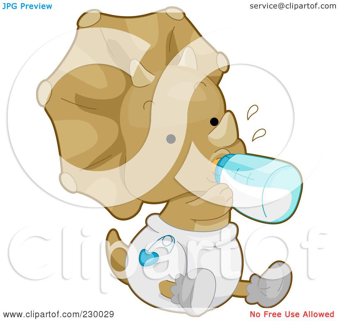 Funny Baby Diaper Clip Art