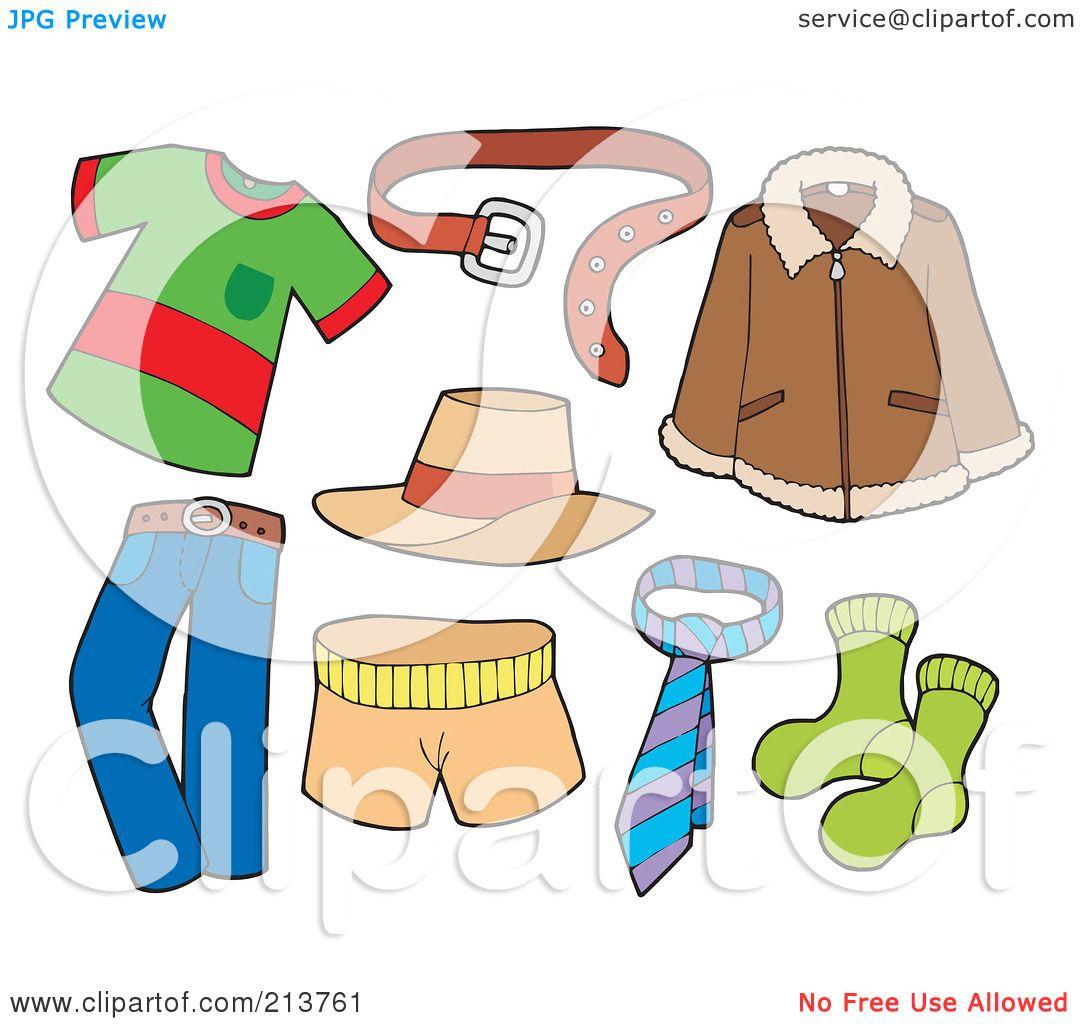Mens Boxers Underwear Clip Art