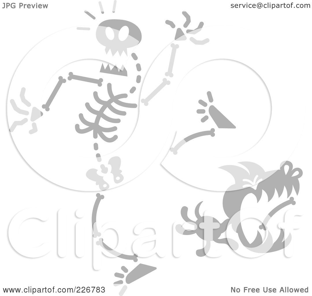 Royalty Free Rf Clipart Illustration Of A Dog Stealing A