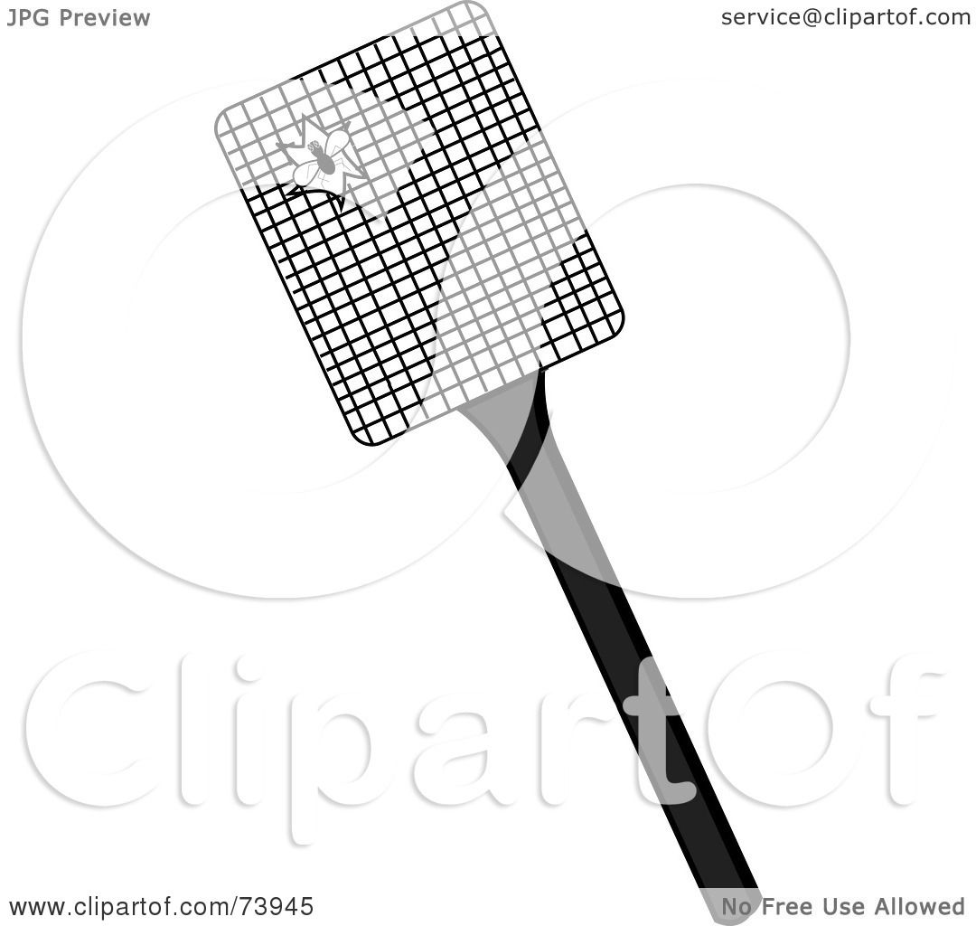 Royalty Free Rf Clipart Illustration Of A Fly Splattered