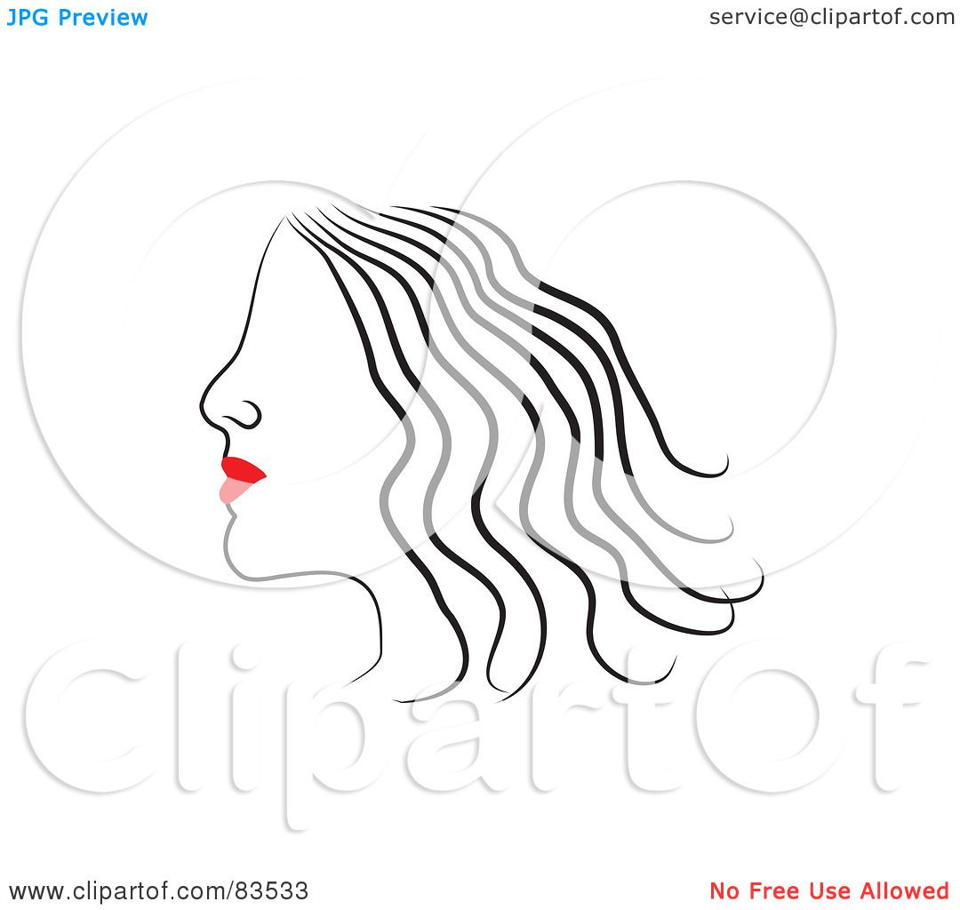 Royalty Free Rf Clipart Illustration Of A Line Drawing