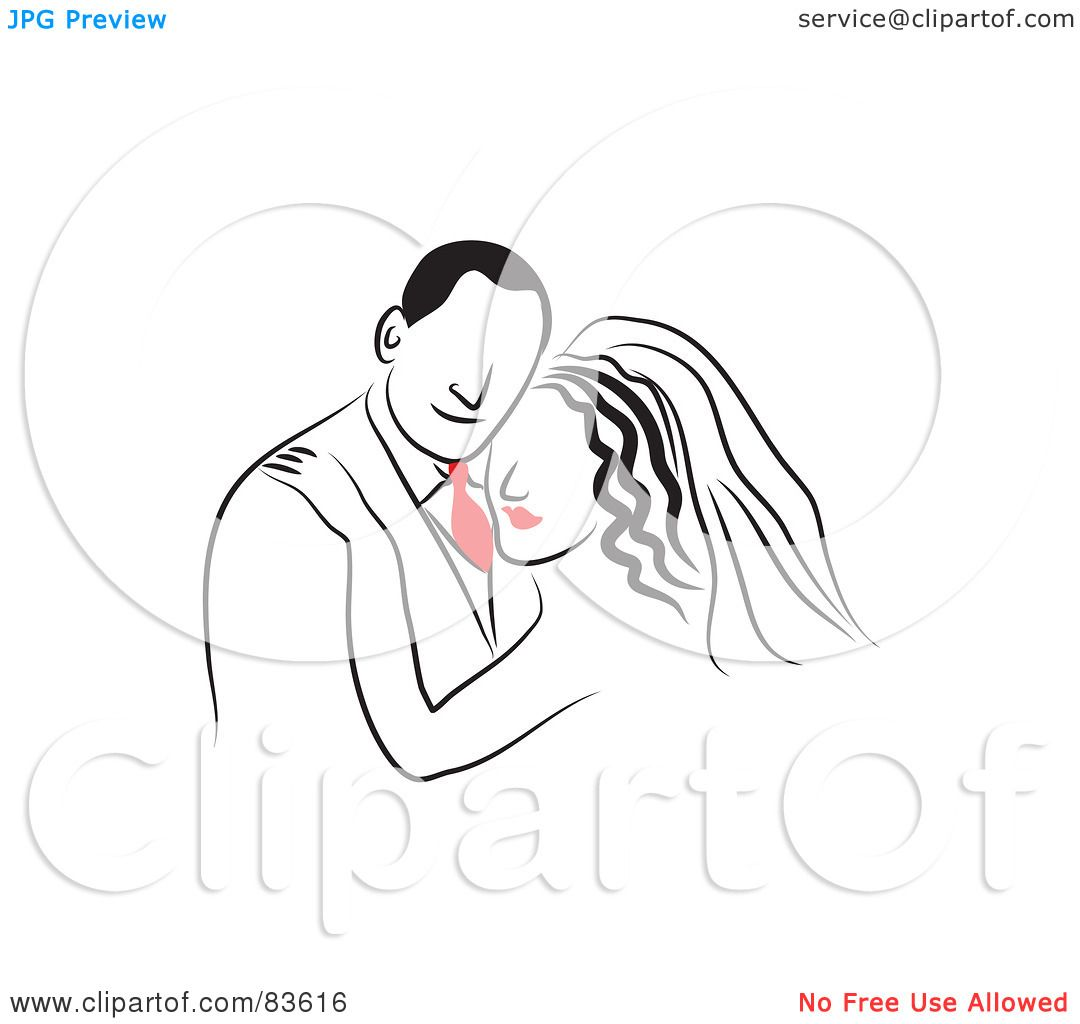 Royalty Free Rf Clipart Illustration Of A Line Drawn