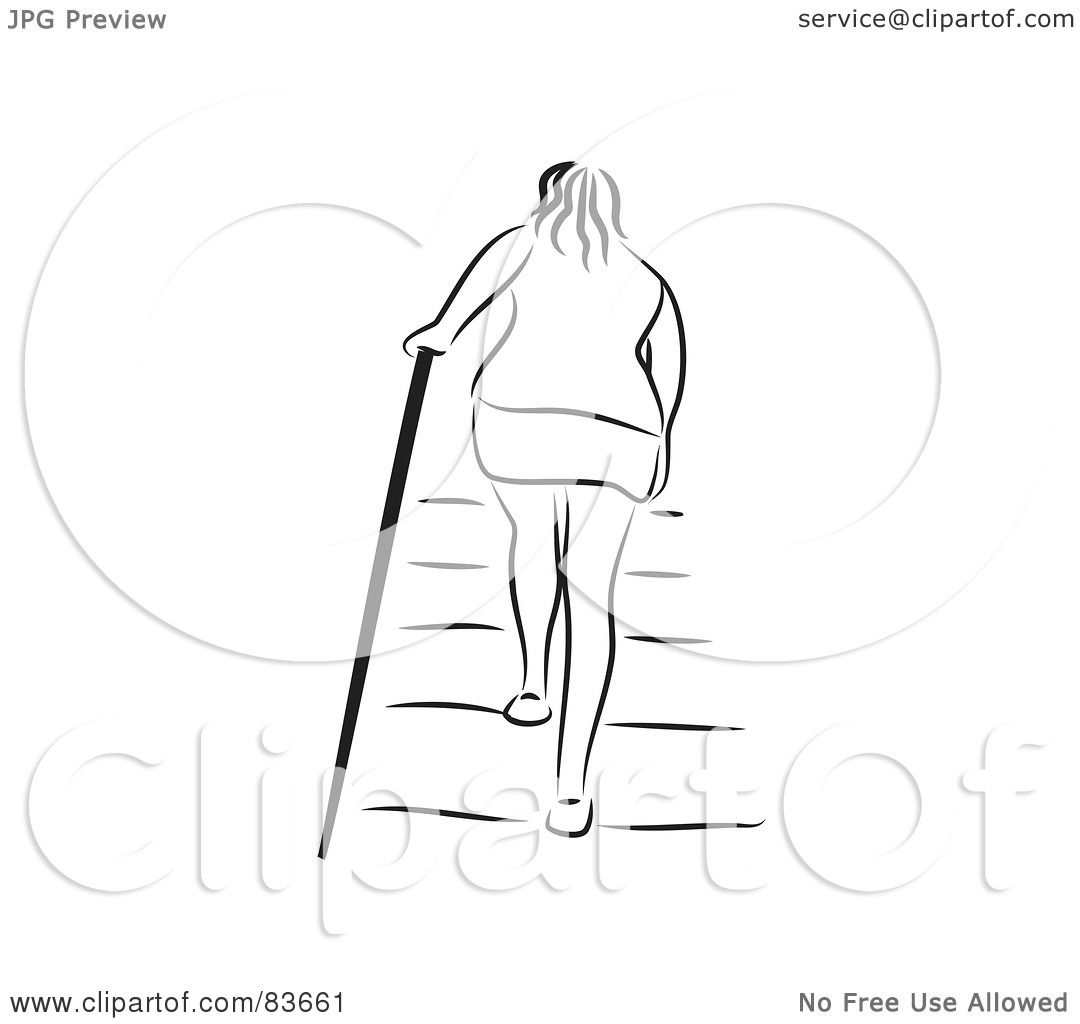 Royalty Free Rf Clipart Illustration Of A Rear View Of A