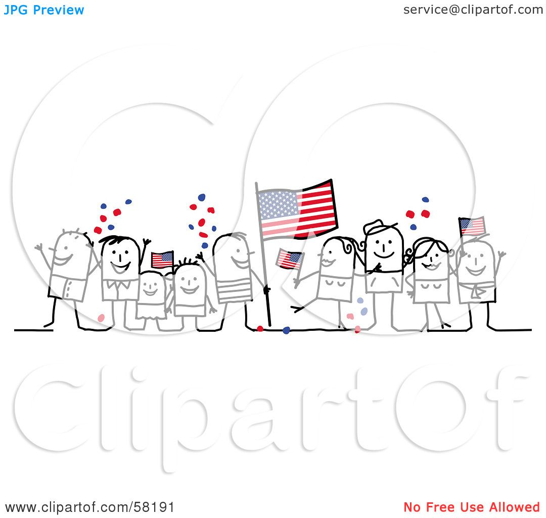 Royalty Free Rf Clipart Illustration Of A Stick People