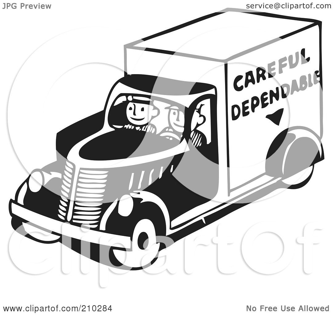 Royalty Free Rf Clipart Illustration Of Retro Black And
