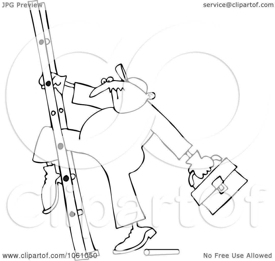 Leg Outline Clip Art Sketch Coloring Page