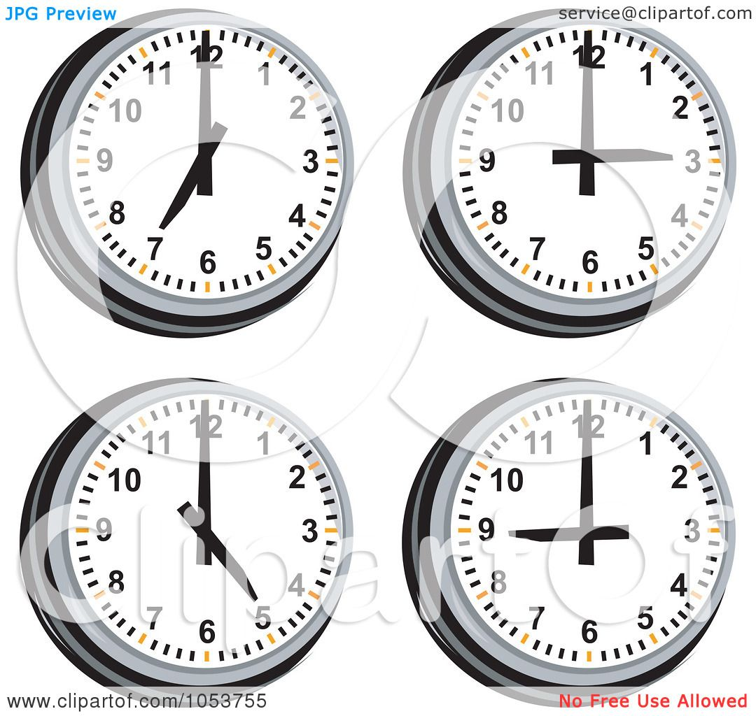 Clipart Of Clock