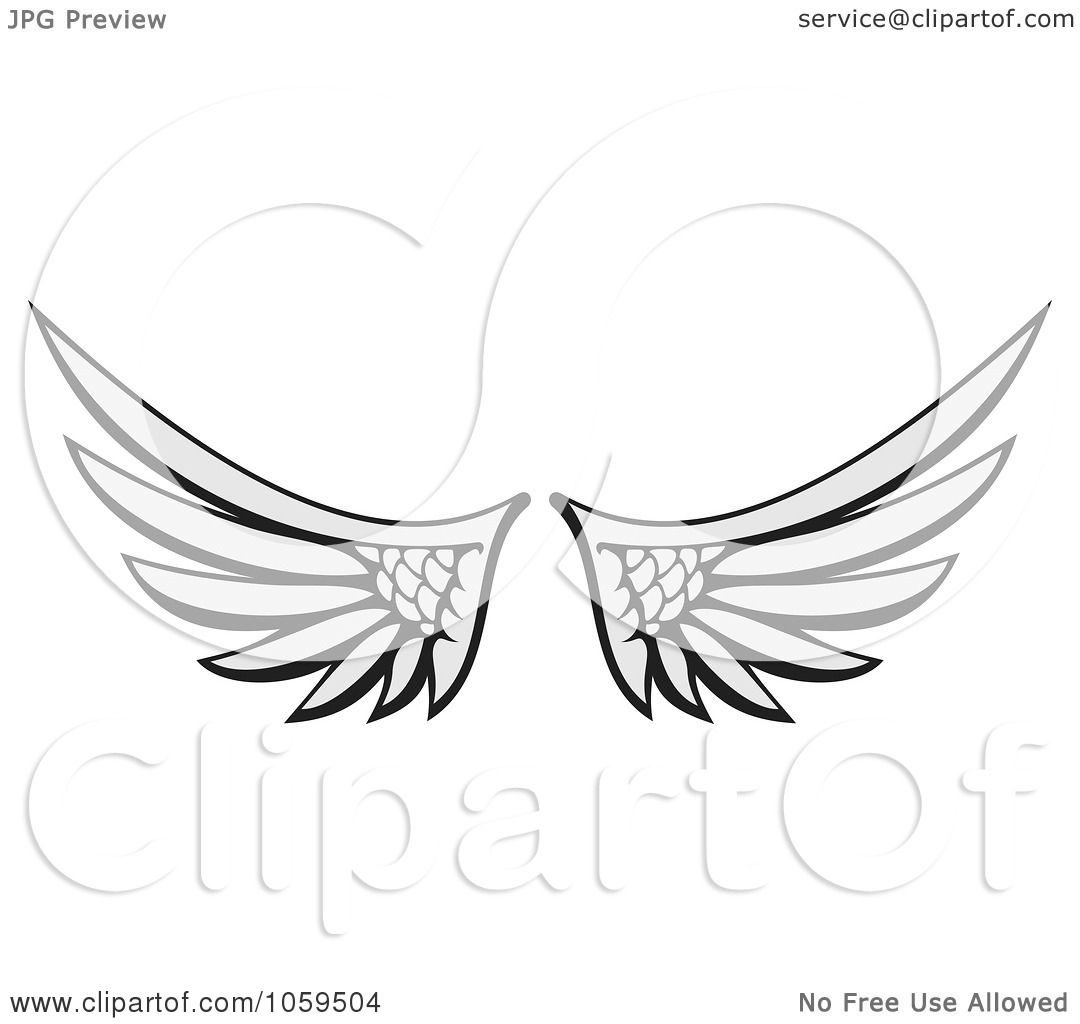 Royalty Free Vector Clip Art Illustration Of A Pair Of