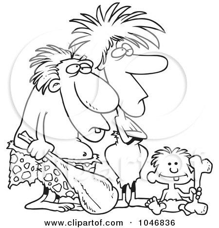 https://i1.wp.com/images.clipartof.com/small/1046836-Cartoon-Black-And-White-Outline-Design-Of-A-Caveman-Dad-Mom-And-Son.jpg