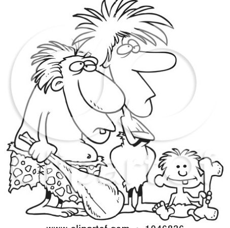 https://i1.wp.com/images.clipartof.com/small/1046836-Cartoon-Black-And-White-Outline-Design-Of-A-Caveman-Dad-Mom-And-Son.jpg?resize=454%2C450