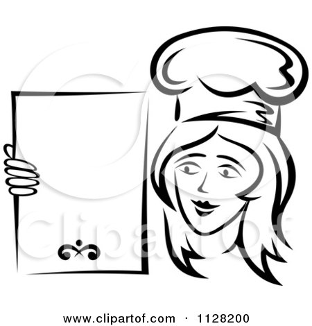 Of Chef Cook Carrying Bowl Circle Cartoon Pork Clipart