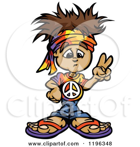 royalty free rf hippie clipart illustrations vector graphics 1