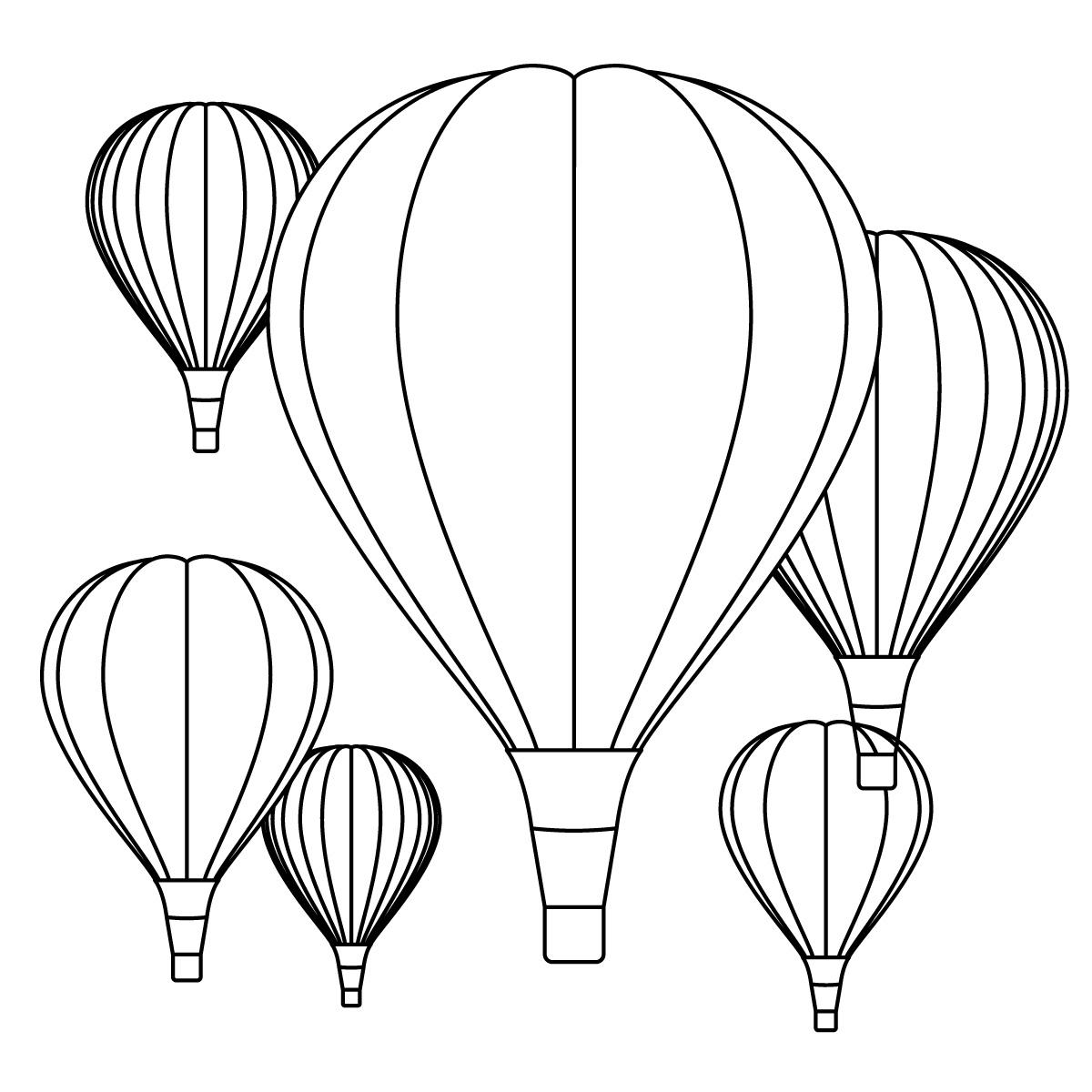 Vintage Hot Air Balloon Clip Art Clipart Panda