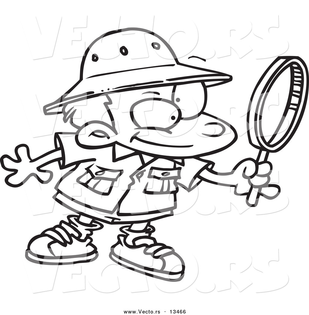 Magnifying Glass Clipart For Kids Clipart Panda