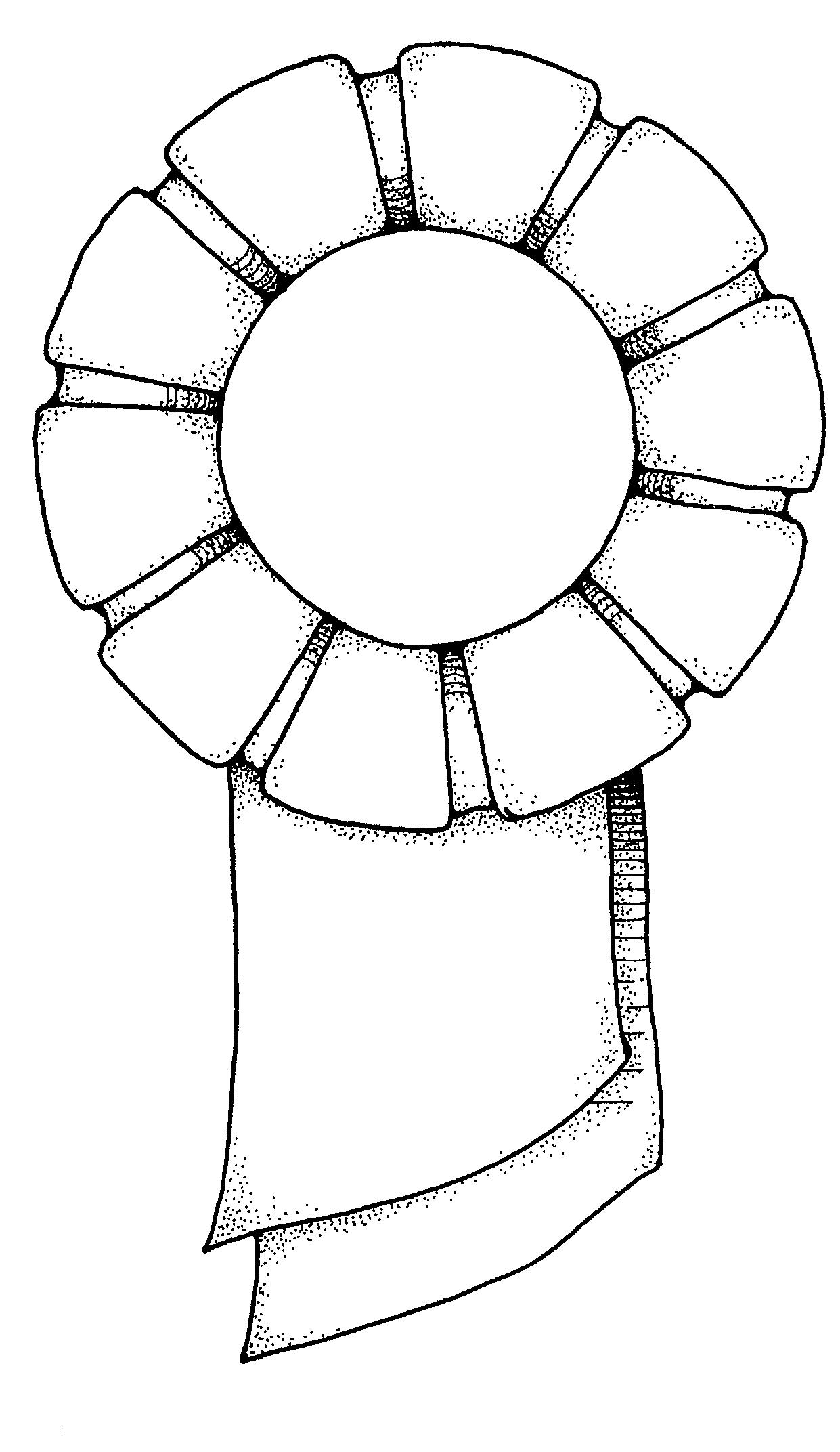 Award Ribbon Printable Clipart Panda