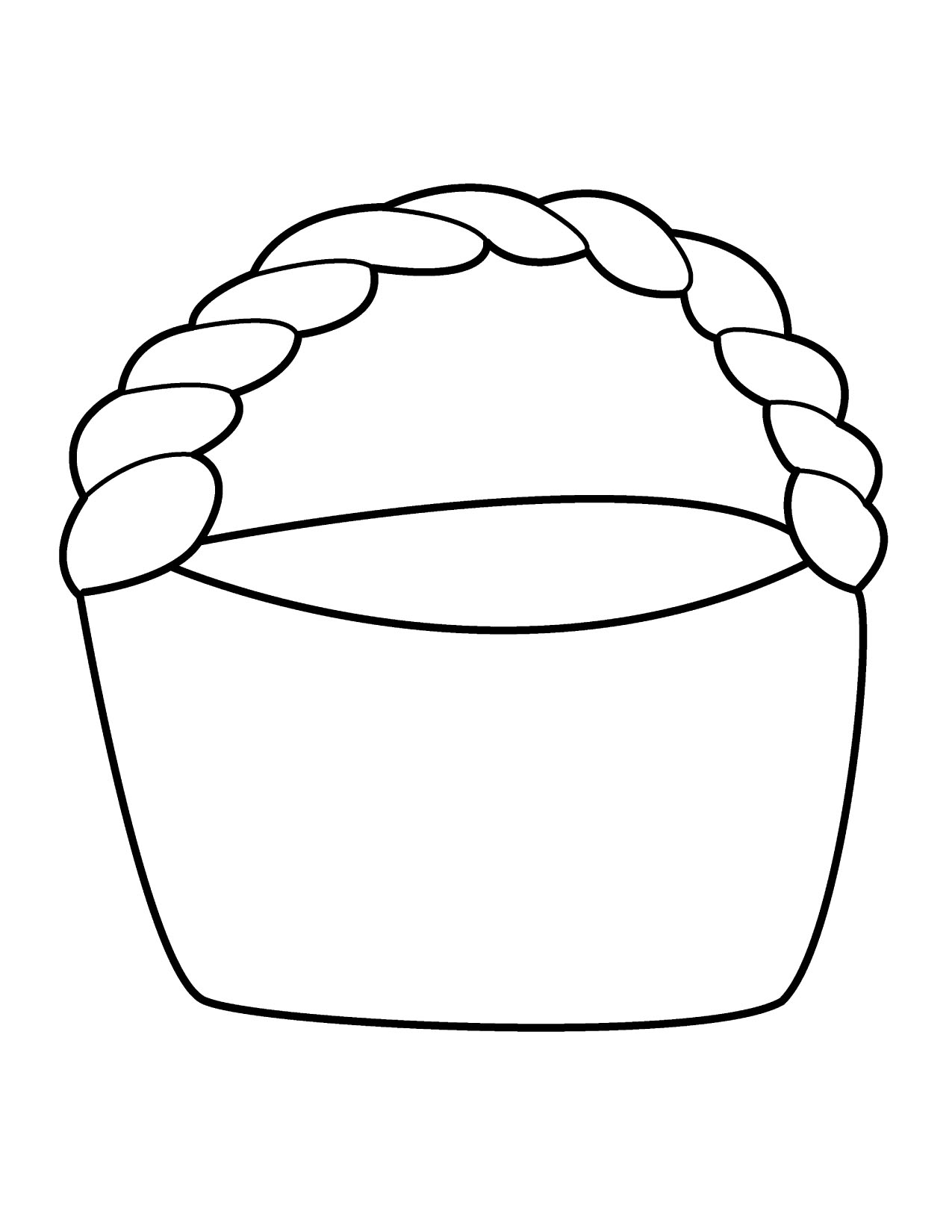 Bread Basket Clipart Black And White