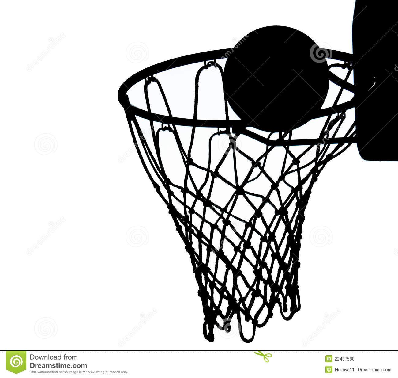 Basketball Net Vector Clipart Panda