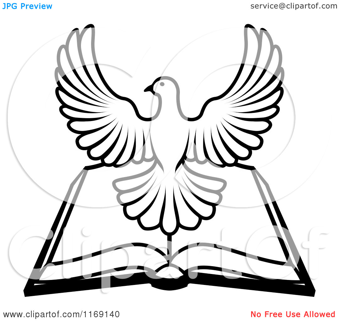 Bible Clipart Black And White Clipart Panda