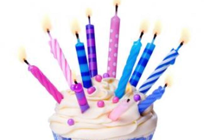 Birthday Cupcake With Candles Clipart Panda Free Clipart Images