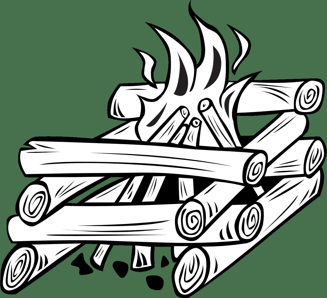 Campfire Cooking Clipart Clipart Panda