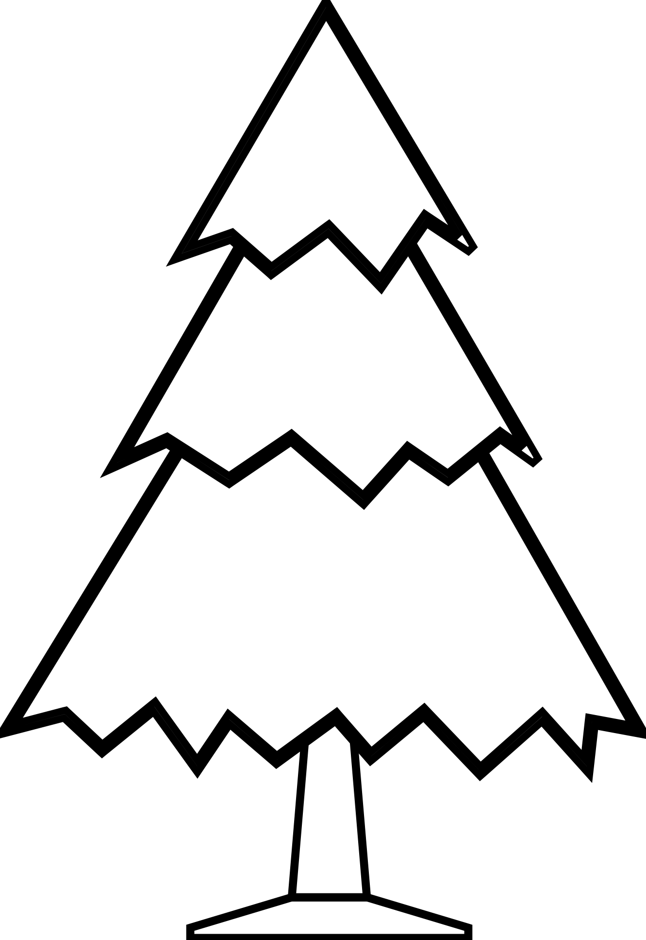 free clipart christma tree