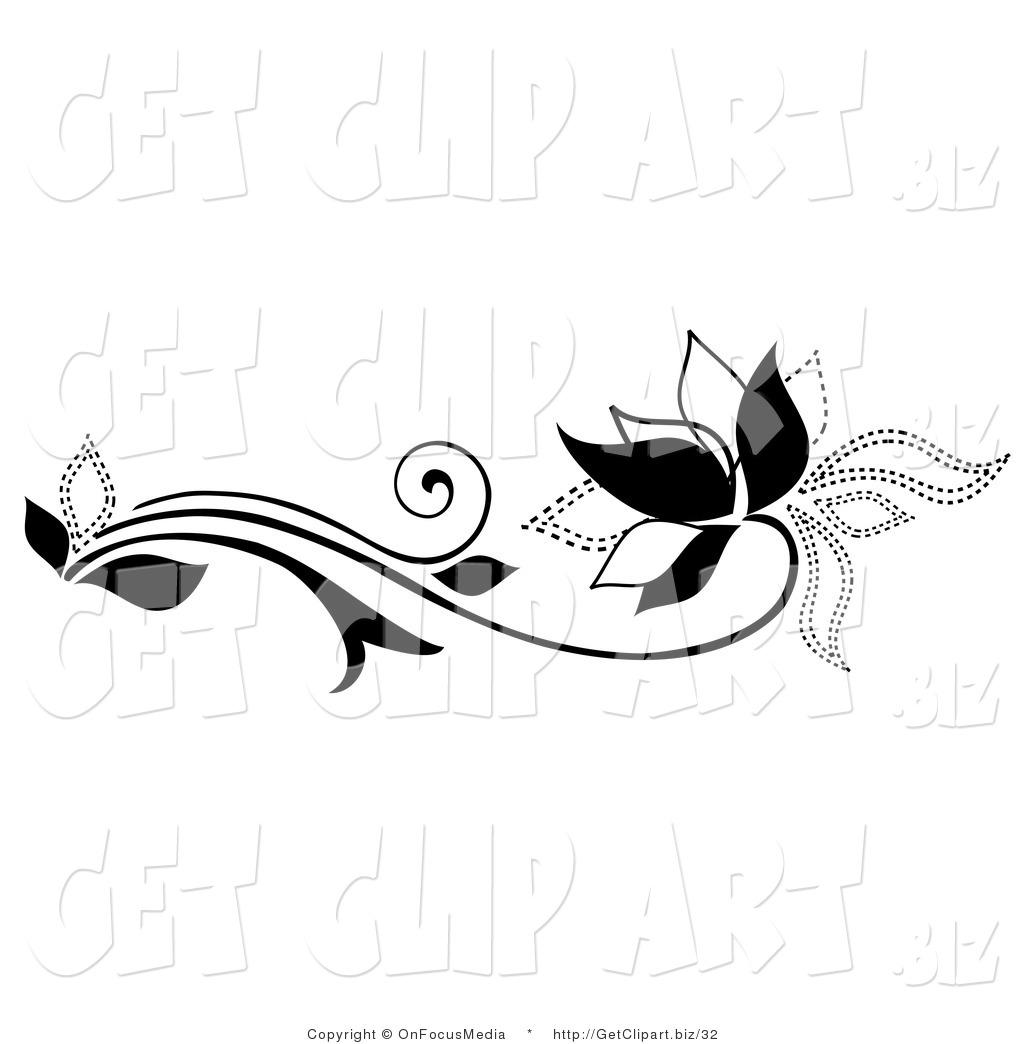 Black Swirls Clipart Clipart Panda