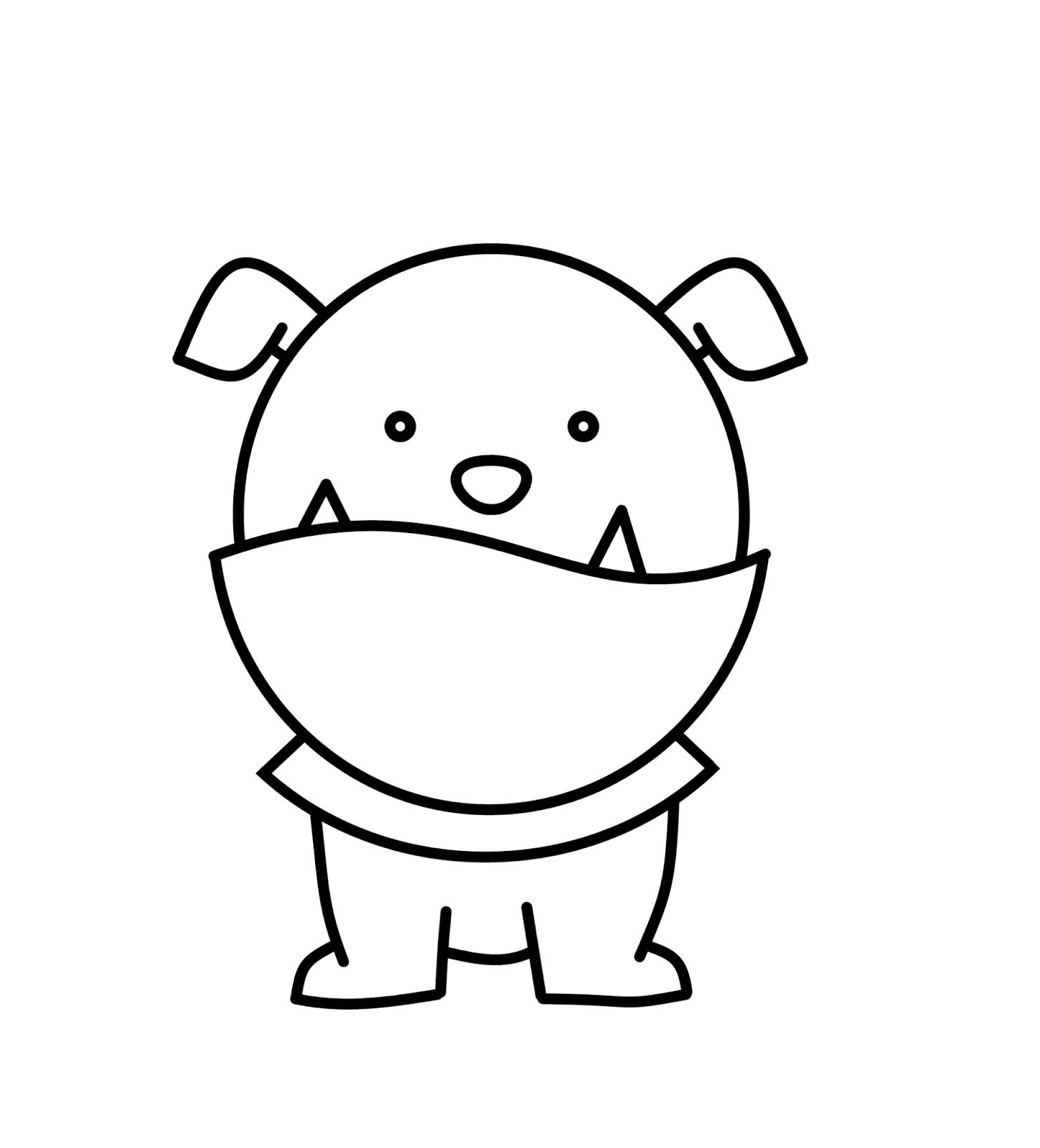 English Bulldog Clipart Panda