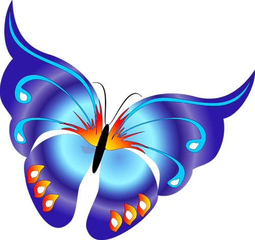 Image result for free clip art butterflies transparent background