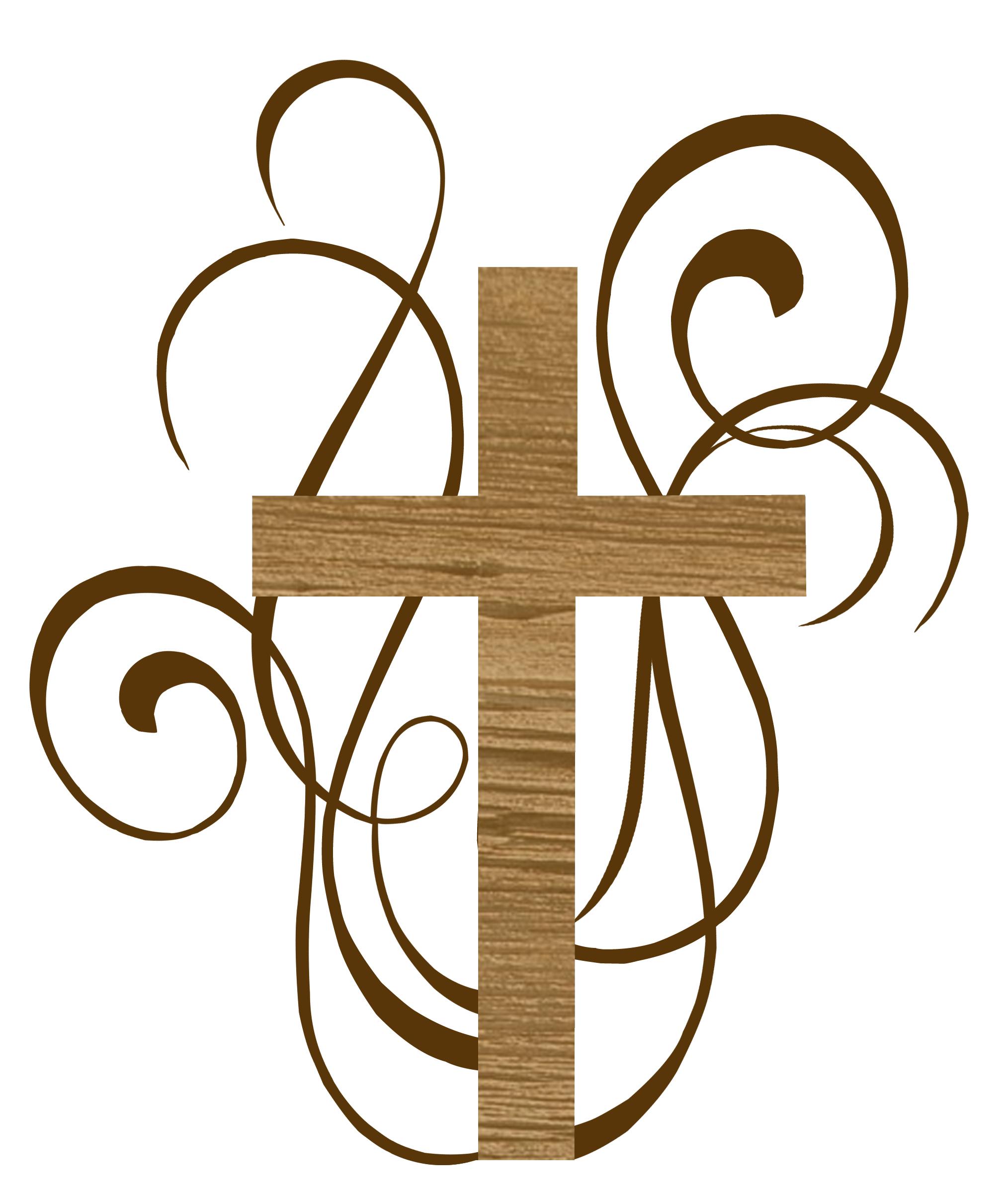 Catholic Baptism Cross Clipart Clipart Panda