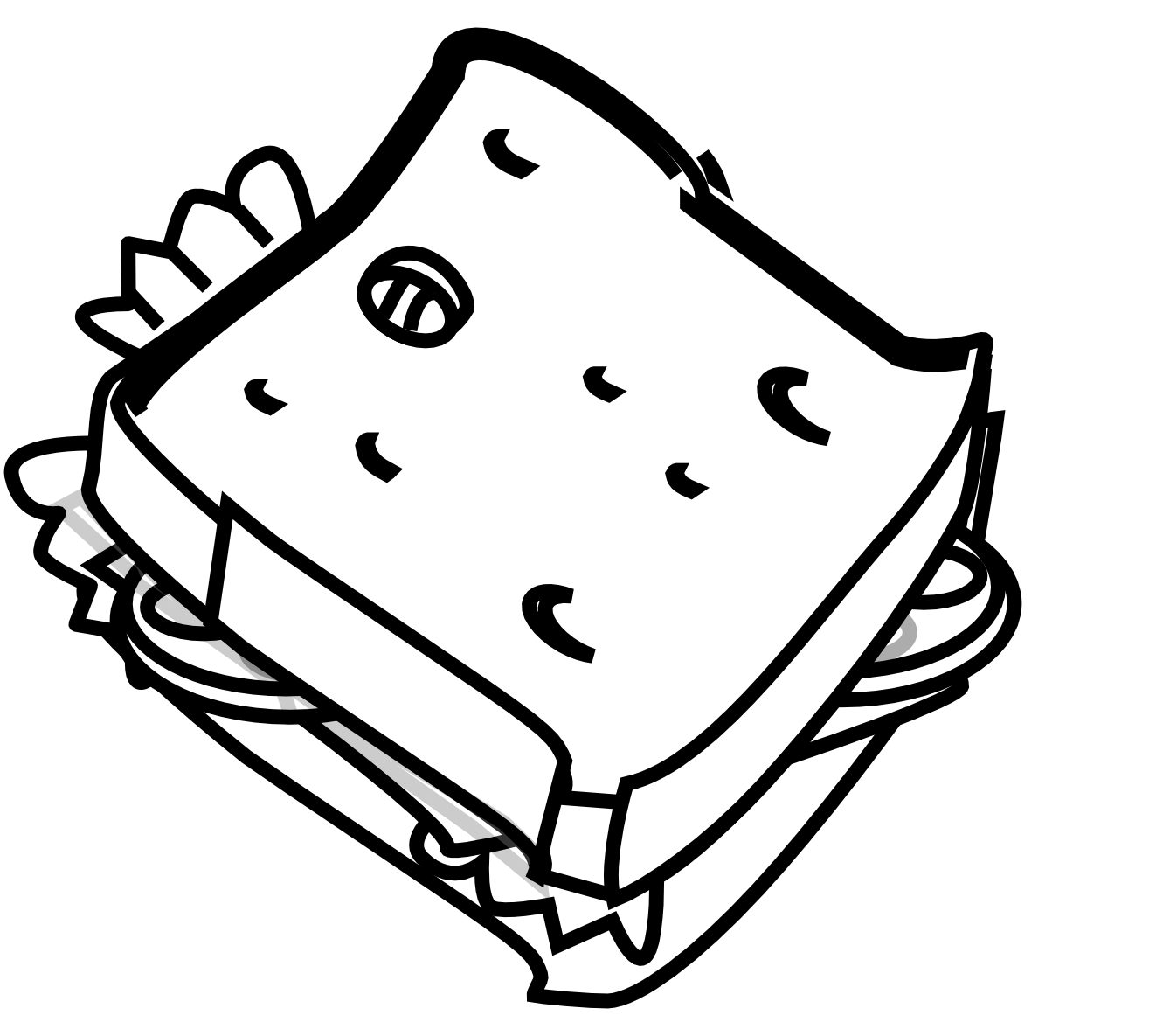 Cheese Clipart Black And White Clipart Panda