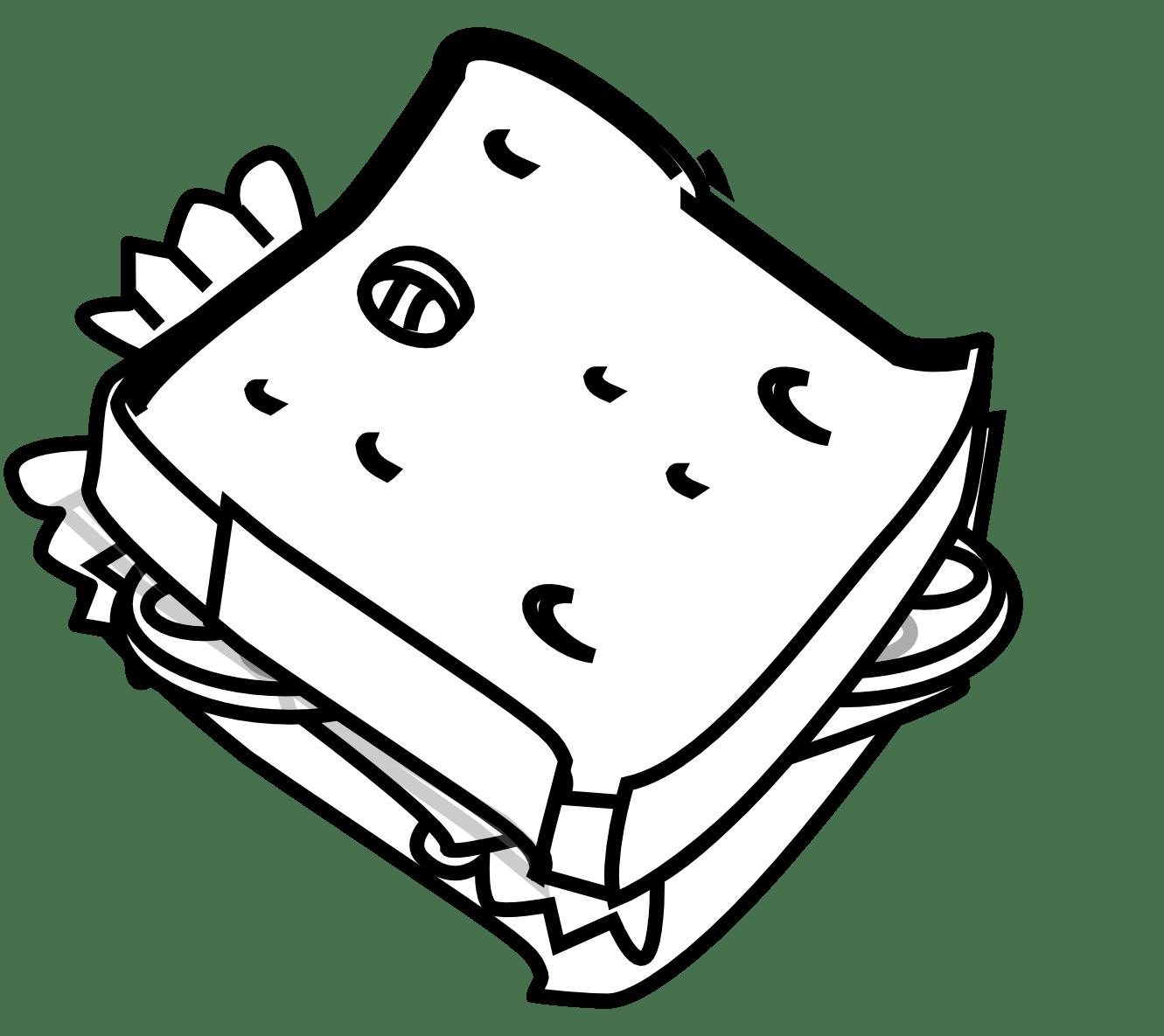 Peanut Butter Sandwich Clipart Clipart Panda
