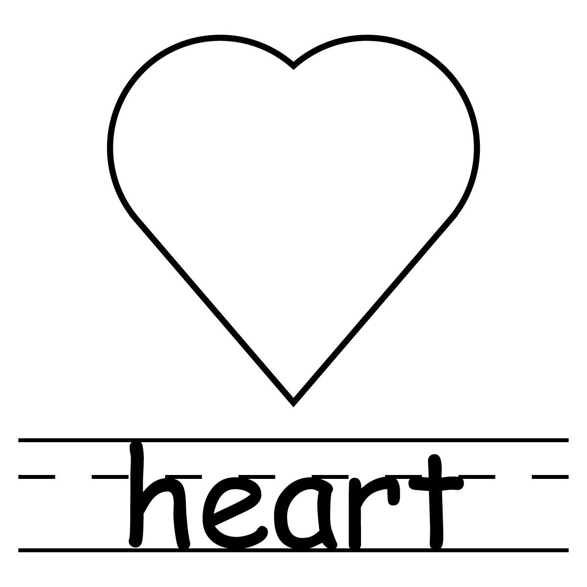 Clipart Heart Shape Clipart Panda
