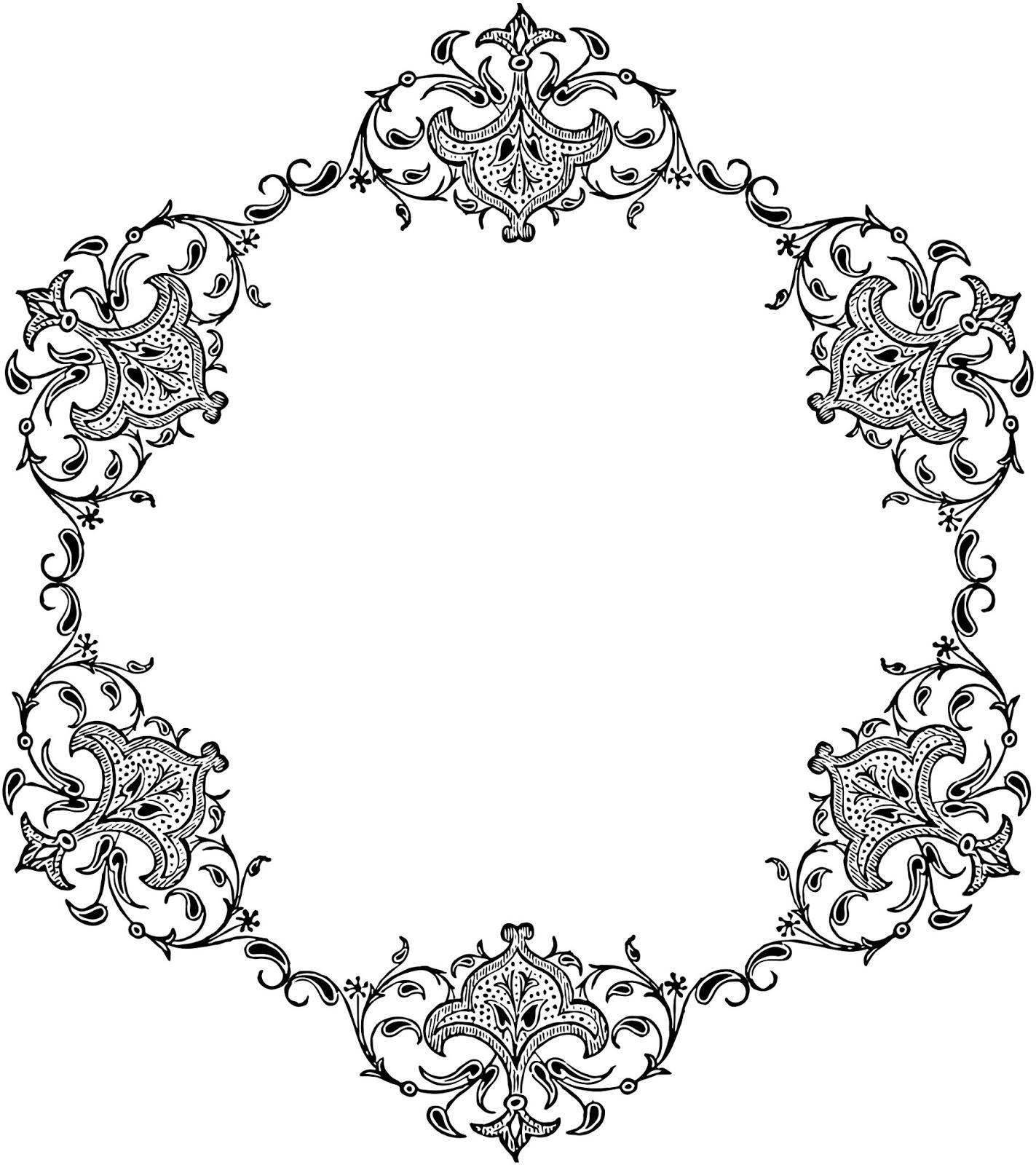 White Black Frames Borders Clip Black Diamond Border Art Background And