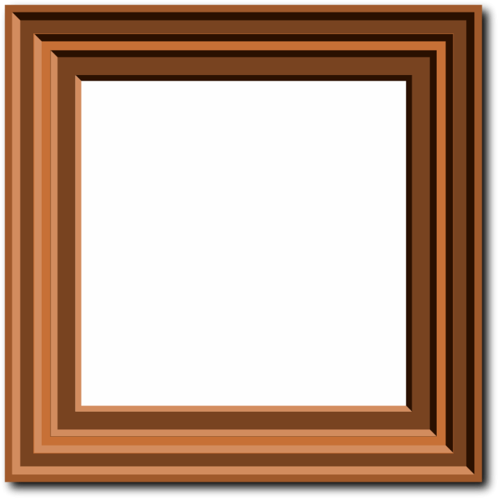 Wooden Picture Frame Clipart Free   Framess.co
