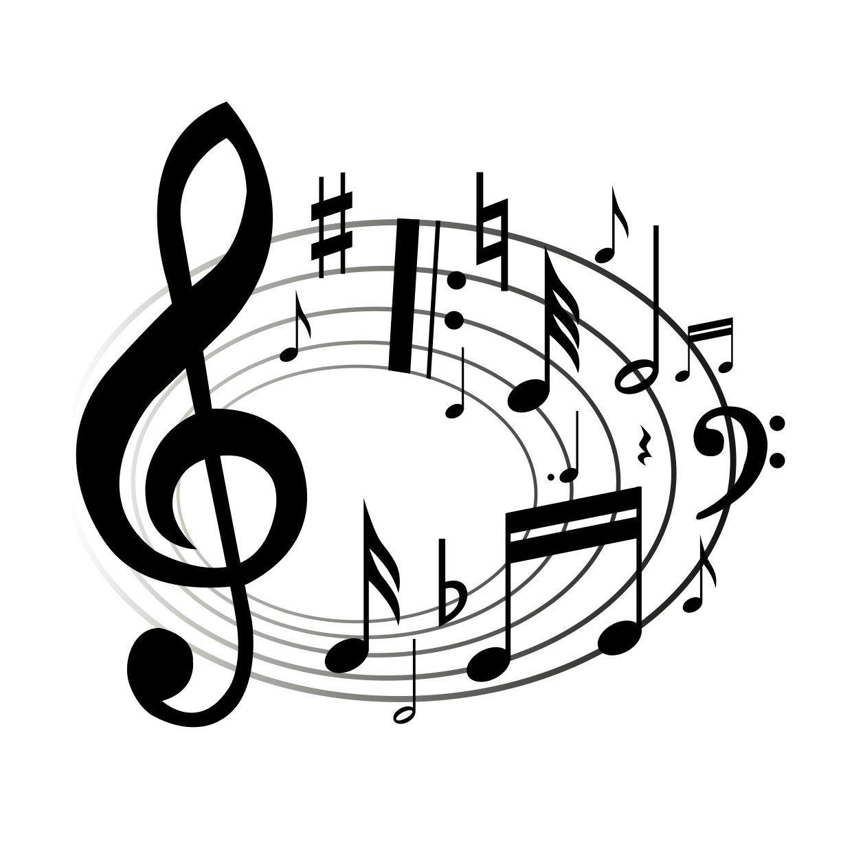 Music Notes Clipart Clipart Panda
