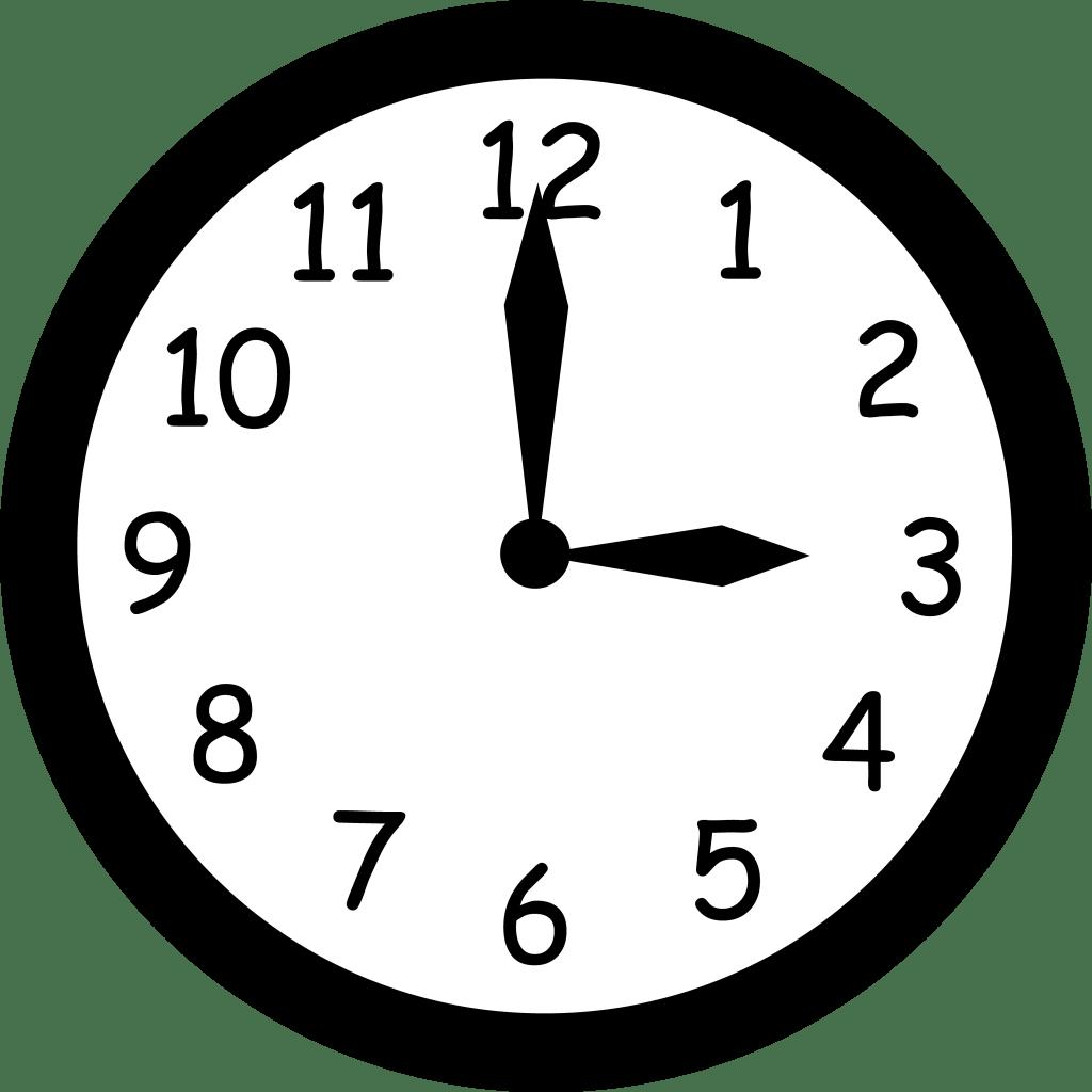 Clock Clipart For Teachers Clipart Panda