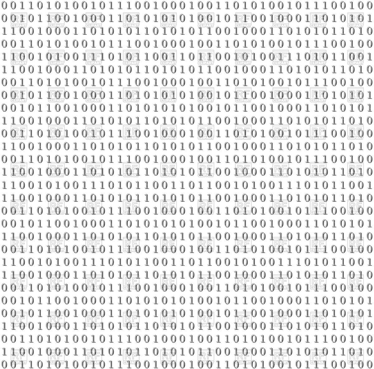 Binary Code Clipart Clipart Panda