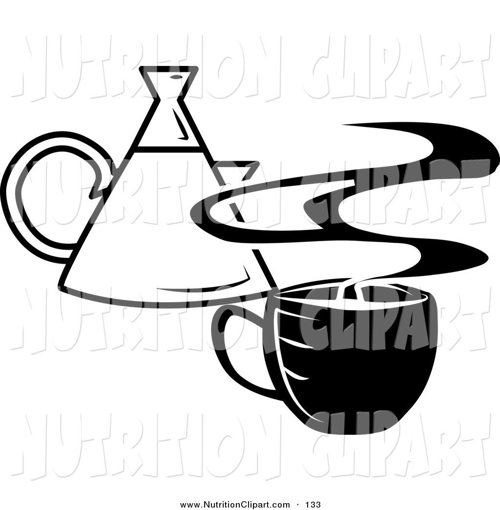 Coffee Pot Clipart Black And White Clipart Panda