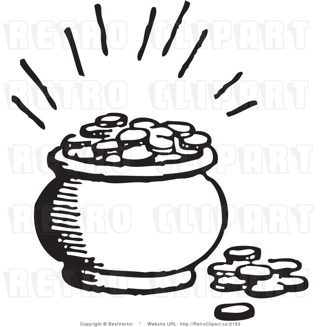 Coins Clipart Black And White Clipart Panda