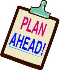 Image result for free clip art planning ahead