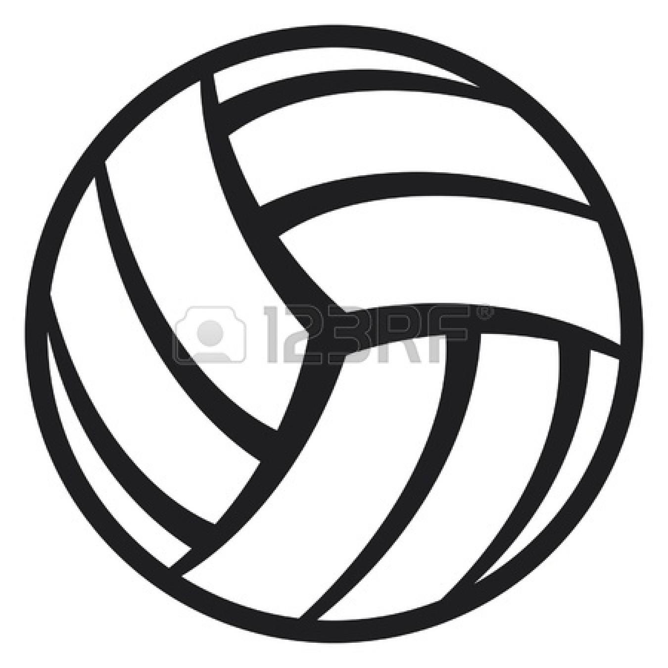Cool Volleyball Ball Clipart Clipart Panda