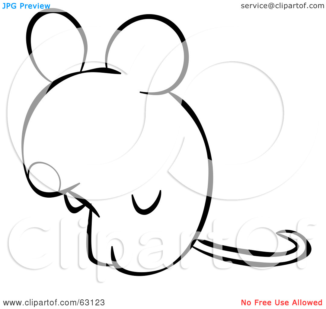 Computer Mouse Clipart Black And White