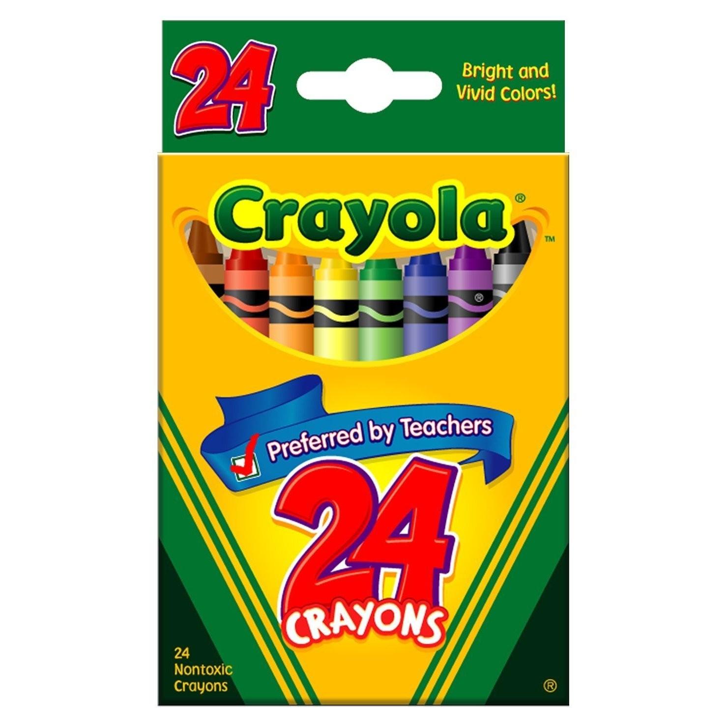 Crayola Crayons Box Clipart Panda