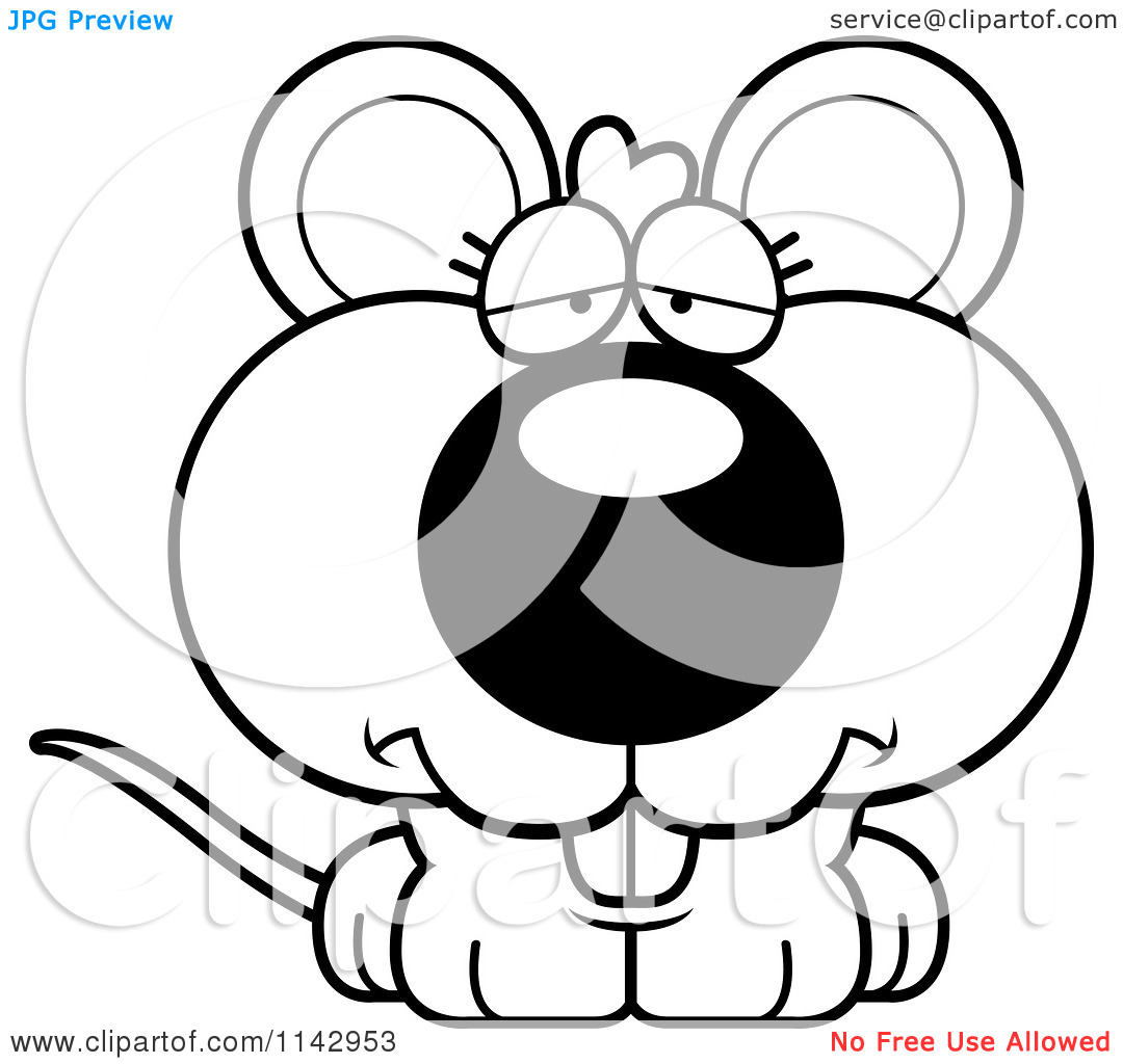 Christma Mouse Clipart