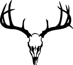 Download Deer Skull Decal | Clipart Panda - Free Clipart Images