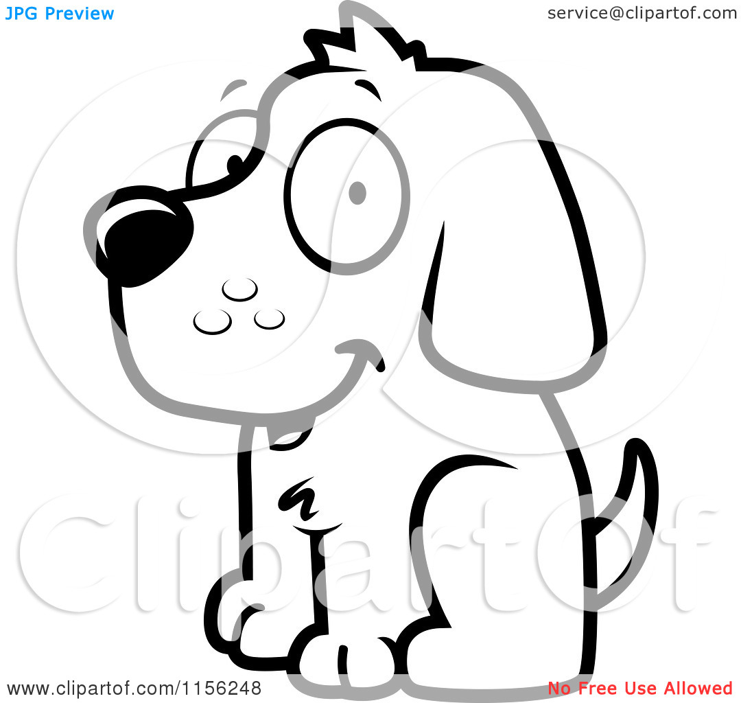 Cartoon Clipart Of A Black And Clipart Panda
