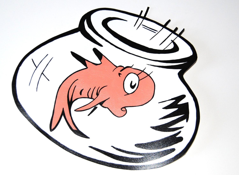 Dr Seuss Fish Coloring Page Clipart Panda