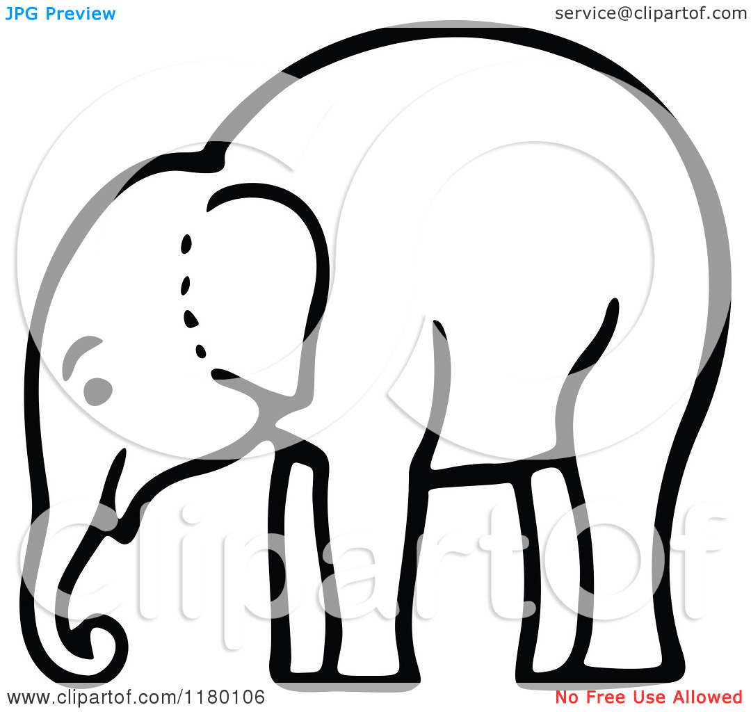 Elephant Head Clipart Clipart Panda