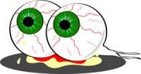halloween clipart eyeballs