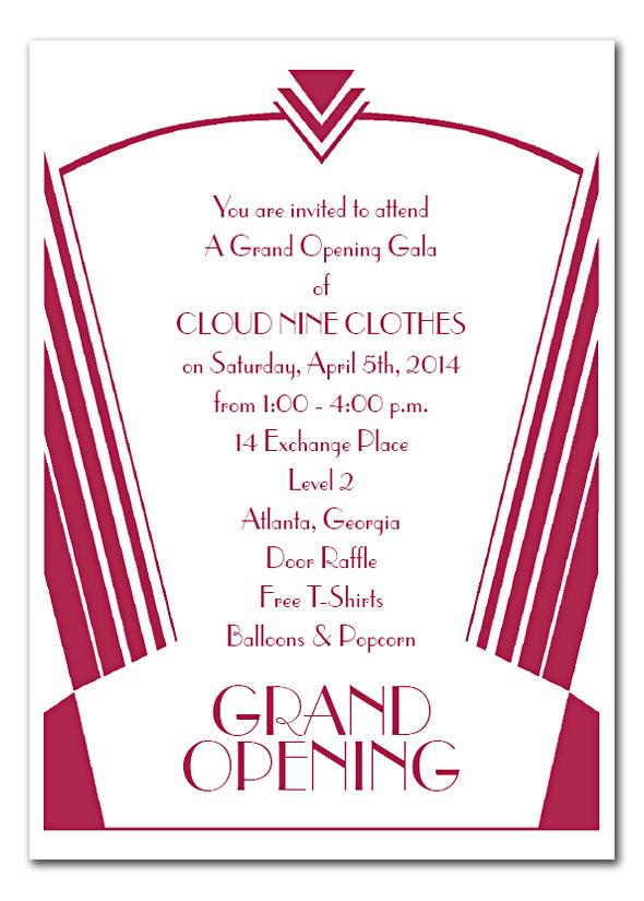 Formal invitation grand opening cogimbo best 25 business invitation ideas only on stopboris Choice Image